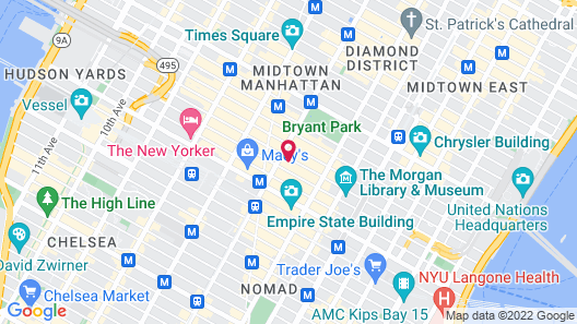 Embassy Suites by Hilton New York Manhattan Times Square Map