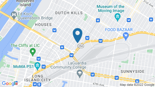 Fairfield Inn & Suites New York Queens/Queensboro Bridge Map