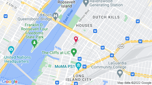 Z NYC Hotel Map