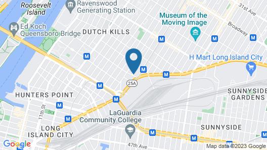 Quality Inn Long Island City - Queensboro Bridge Map