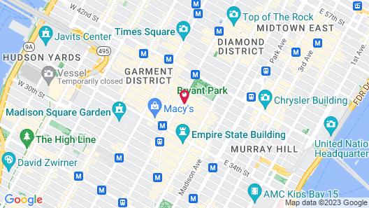 Refinery Hotel Map