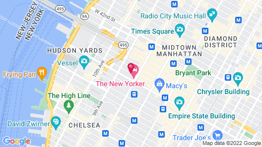EVEN Hotel Times Square South, an IHG Hotel Map