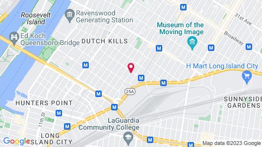 Holiday Inn - Long Island City - Manhattan View, an IHG Hotel Map