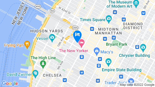 TRYP by Wyndham New York City Times Square South Map