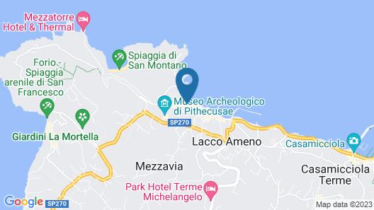 Albergo La Reginella Map