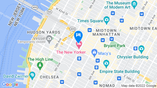 Crowne Plaza HY36 Midtown Manhattan, an IHG Hotel Map