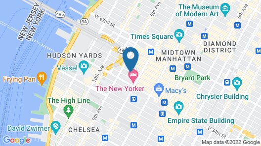 SpringHill Suites by Marriott New York Manhattan/Times Square South Map