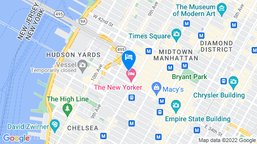 Fairfield Inn & Suites New York Manhattan/Times Square South Map