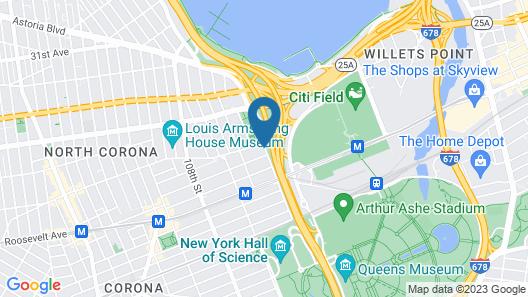 Holiday Inn LaGuardia Airport, an IHG Hotel Map
