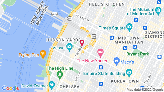 Four Points By Sheraton Manhattan Midtown West Map