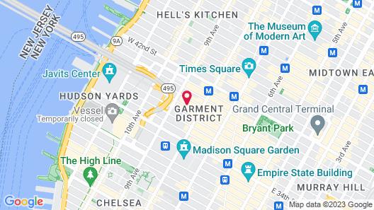 La Quinta Inn & Suites by Wyndham Times Square South Map