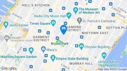 Sofitel New York Map