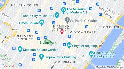 The Gotham Hotel Map