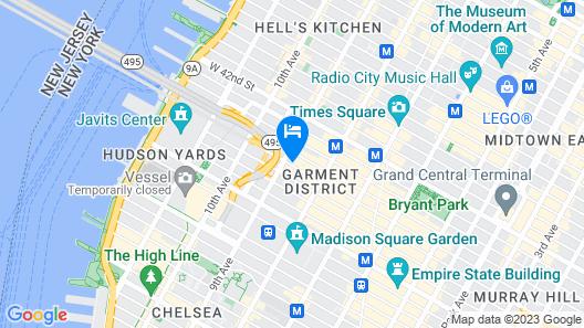 Arlo Midtown Map