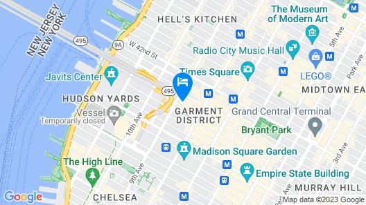 Hyatt Place New York City/Time Square Map
