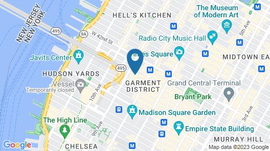 Hampton Inn Manhattan/Times Square South Map