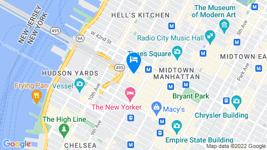 Hampton Inn Manhattan/Times Square South Map