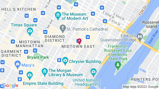The Kimberly Hotel Map