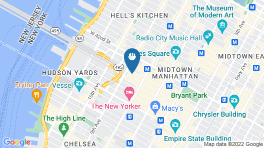 Candlewood Suites New York City-Times Square Map