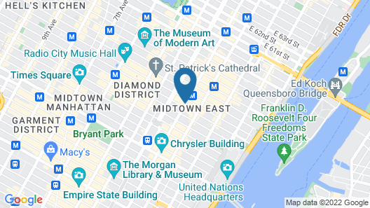 The Maxwell New York City Map