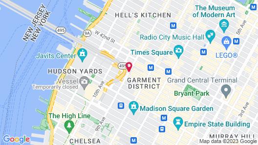 Cassa Times Square Hotel Map