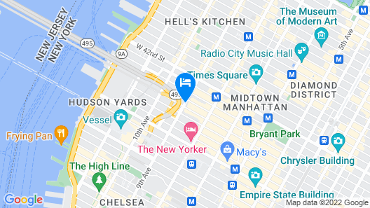 Cassa Times Square Hotel Map