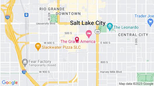 DoubleTree Suites by Hilton Hotel Salt Lake City Map