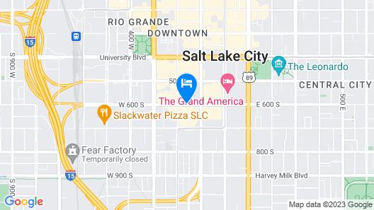 Hotel RL Salt Lake City Map