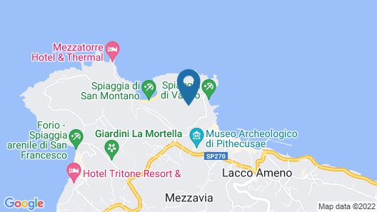 San Montano Resort & Spa Map