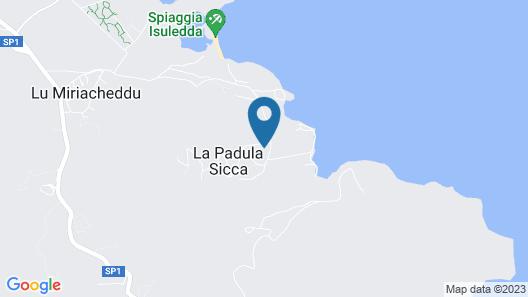 Hotel Costa Caddu Map