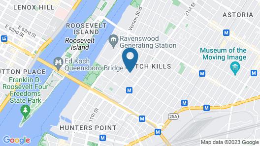 Howard Johnson by Wyndham Long Island City Map