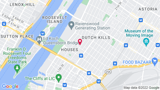 Wingate by Wyndham Long Island City Map
