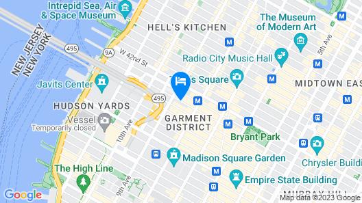 Staybridge Suites Times Square Map