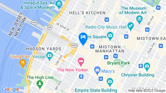 DoubleTree by Hilton New York Times Square West Map