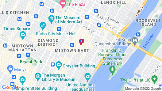 Hilton Garden Inn New York/Manhattan-Midtown East Map