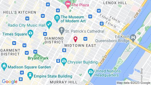 DoubleTree by Hilton Metropolitan - New York City Map