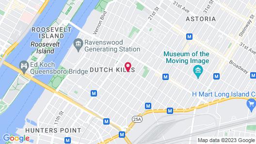 Astoria Delancy Inn & Suites Map