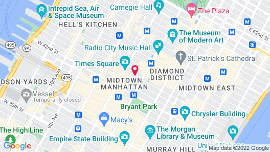 Room Mate Grace Boutique Hotel Map