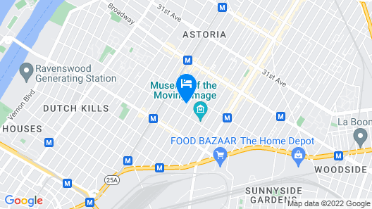 Charming Private Astoria Apt 10 Min To Manhattan by RedAwning Map