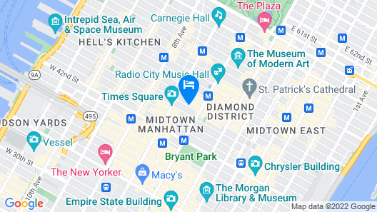 Hotel 46 Times Square Map