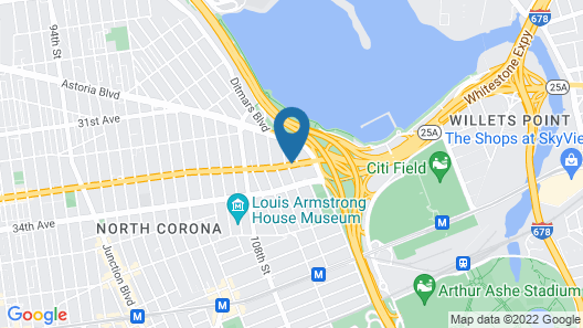 SpringHill Suites by Marriott New York LaGuardia Airport Map