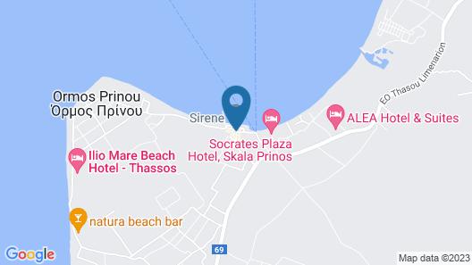 Alea Hotel & Suites Map