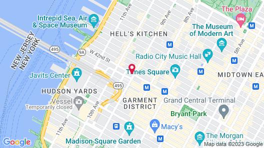 Pod Times Square Map