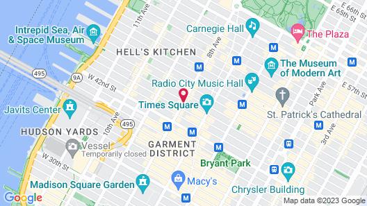Row NYC Map