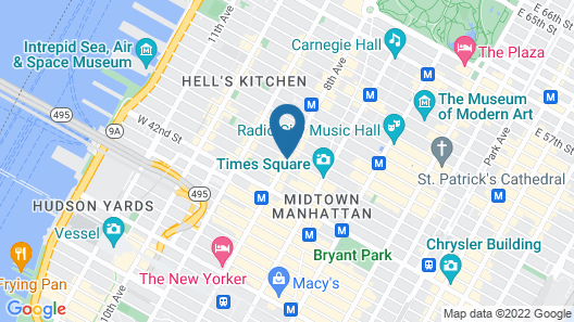 Row NYC Map