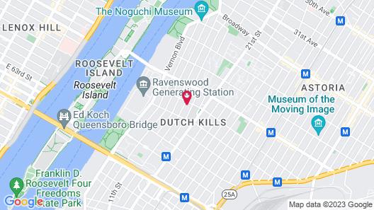 Hotel Nirvana Map