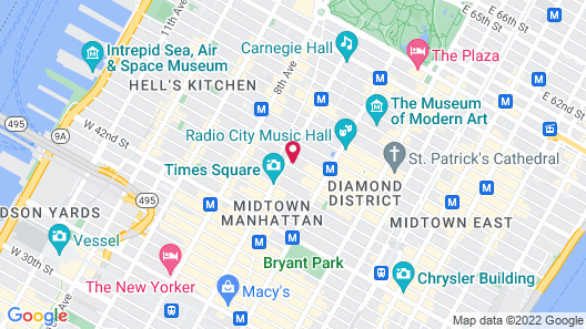 The Times Square EDITION Map
