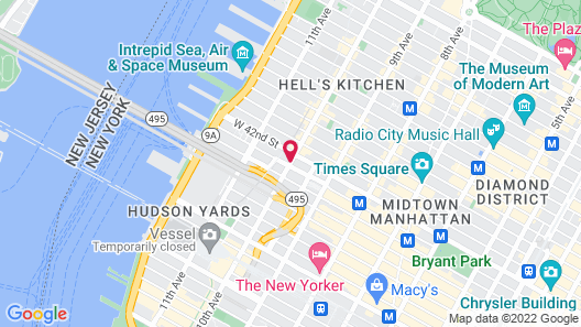 YOTEL New York Map