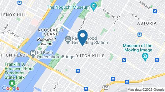 Voyage Hotel Map