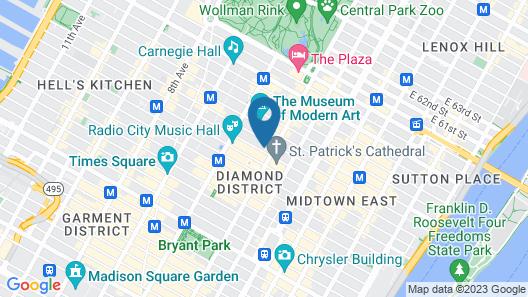 3 West Club Map